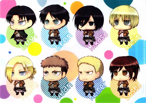 Yuupon, Production I.G, Shingeki no Kyojin, Jean Kirschstein, Levi Ackerman