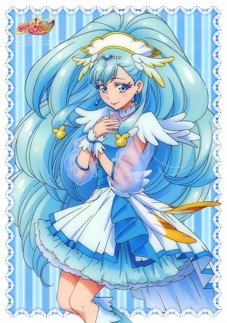 Toei Animation, HUGtto! Precure, Cure Ange, Pencil Board, Animage