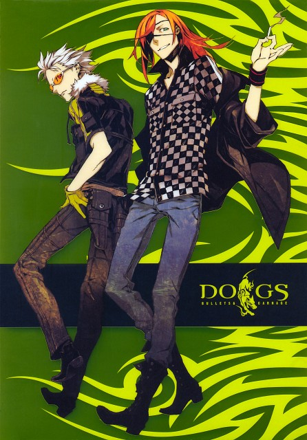 Miwa Shirow, David Production, Dogs: Bullets and Carnage, Haine Rammsteiner, Badou Nails