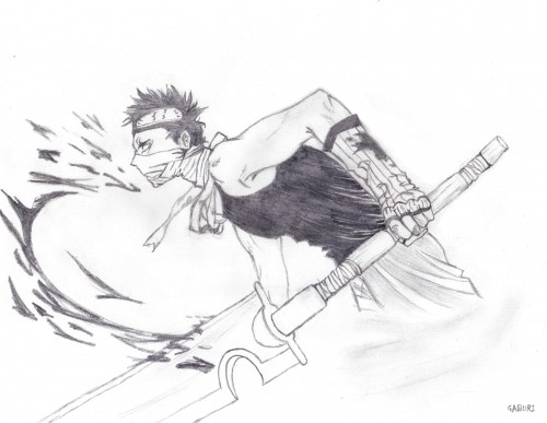 Masashi Kishimoto, Studio Pierrot, Naruto, Momochi Zabuza, Member Art