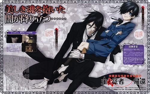 A-1 Pictures, Kuroshitsuji, Sebastian Michaelis, Ciel Phantomhive, Animedia