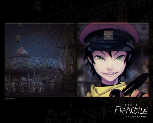tri-Crescendo, Bandai Visual, Fragile Dreams, Crow (Fragile Dreams), Official Wallpaper