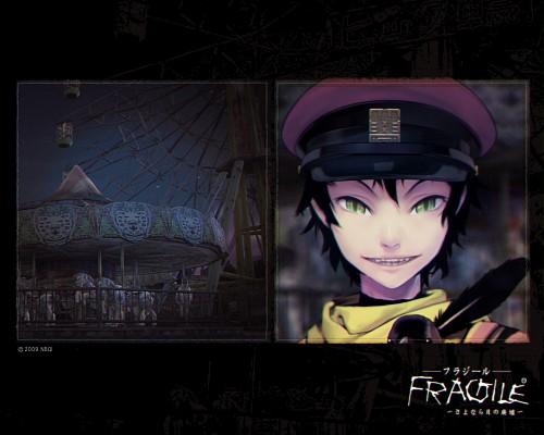 Bandai Visual, tri-Crescendo, Fragile Dreams, Crow (Fragile Dreams), Official Wallpaper