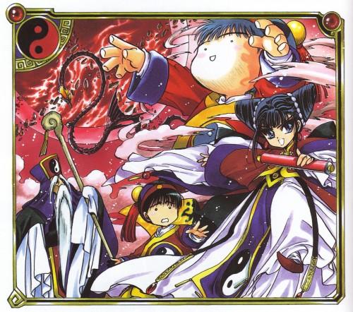 CLAMP, Magic Knight Rayearth, Magic Knight Rayearth 2 Illustrations Collection, Chang Ang, Sang Yung