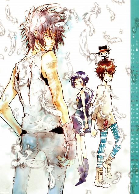 Akira Amano, Artland, Katekyo Hitman Reborn!, Uni, Leon (Katekyo Hitman Reborn!)