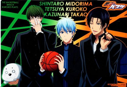 Tadatoshi Fujimaki, Production I.G, Kuroko no Basket, Kazunari Takao, Tetsuya Kuroko