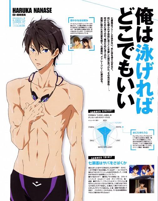 Nobuaki Maruki, Kyoto Animation, Free!, Haruka Nanase (Free!), Newtype Magazine