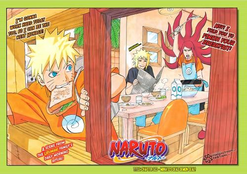 Masashi Kishimoto, Naruto, Minato Namikaze, Kushina Uzumaki, Naruto Uzumaki