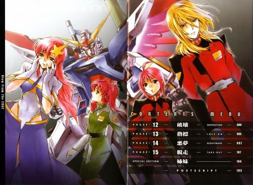 Chimaki Kuori, Sunrise (Studio), Mobile Suit Gundam SEED Destiny, Lunamaria Hawke, Meyrin Hawke