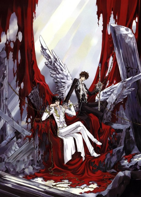 CLAMP, Lelouch of the Rebellion, Mutuality: Clamp Works in Code Geass, Suzaku Kururugi, Lelouch Lamperouge