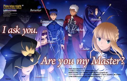 Chie Yamamoto, Ufotable, Fate/stay night, Saber, Assassin (Fate/stay night)