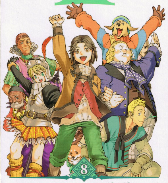 Aki Shimizu, Konami, Suikoden III, Muto (Suikoden), Juan