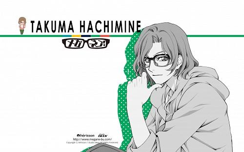 Atsuko Nakajima, Studio Deen, Meganebu!, Takuma Hachimine, Official Wallpaper