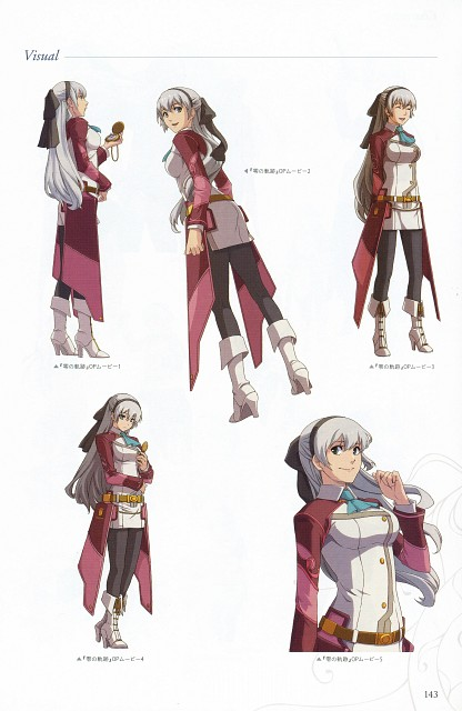 Falcom, The Legend of Heroes: Zero no Kiseki, The Legend of Heroes: Ao no Kiseki, Elie Macdowell, Character Sheet
