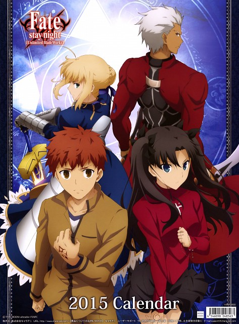 Takashi Takeuchi, Ufotable, Fate/stay night [UBW] 2015 Calendar, Fate/stay night, Archer (Fate/stay night)