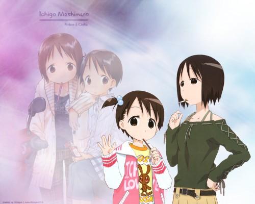 Barasui, Ichigo Mashimaro, Nobue Itoh, Chika Itoh Wallpaper