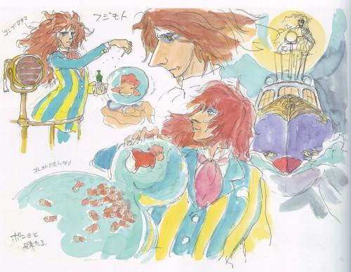 Hayao Miyazaki, Studio Ghibli, Gake no Ue no Ponyo, The Art of - Ponyo, Akiko Yano