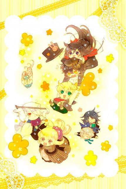 Jun Mochizuki, Xebec, Pandora Hearts, Pandora Hearts ~there is~, Eliot Nightray