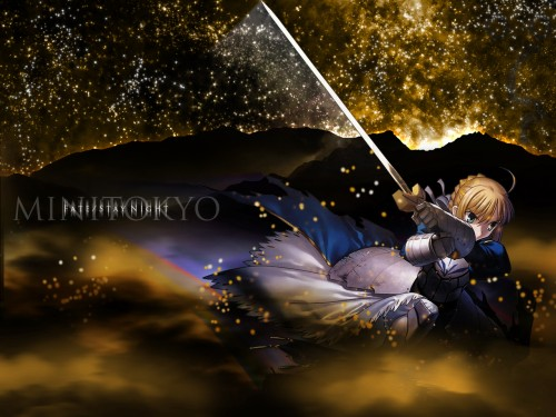 TYPE-MOON, Fate/Hollow ataraxia, Saber Wallpaper