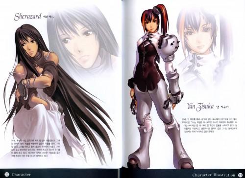 Hyung-Tae Kim, War of Genesis III, Yan Zisuka, Sherazard, Character Sheet