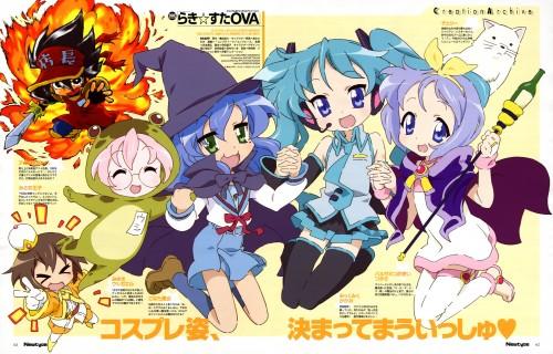 Yasuhiro Takemoto, Kyoto Animation, Lucky Star, Vocaloid, Miku Hatsune