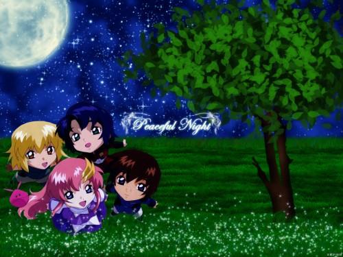 As' Maria, Sunrise (Studio), Mobile Suit Gundam SEED, Lacus Clyne, Kira Yamato Wallpaper