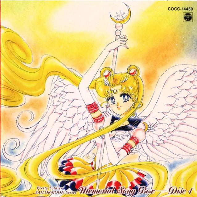 Naoko Takeuchi, Bishoujo Senshi Sailor Moon, BSSM Original Picture Collection Vol. V, Eternal Sailor Moon, Album Cover