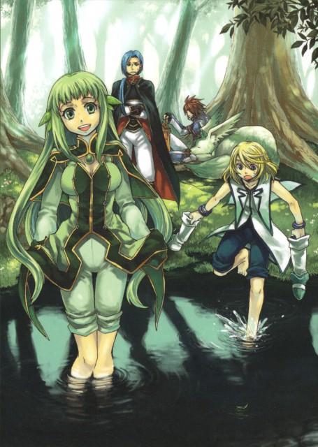 Namco, Tales of Symphonia, Martel (Tales of Symphonia), Yuan Ka-Fai, Kratos Aurion