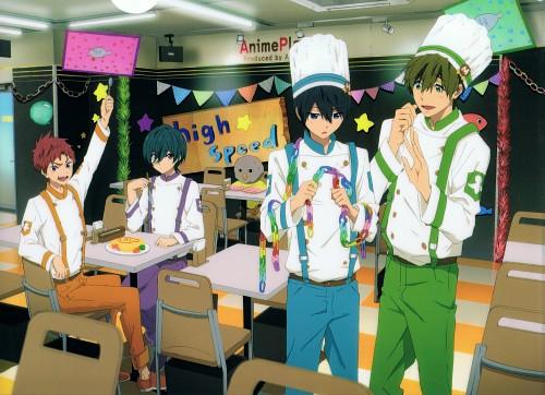 Kyoto Animation, Free!, Ikuya Kirishima, Asahi Shiina, Makoto Tachibana
