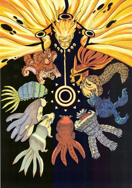 Masashi Kishimoto, Naruto, Naruto Kyuubi Mode