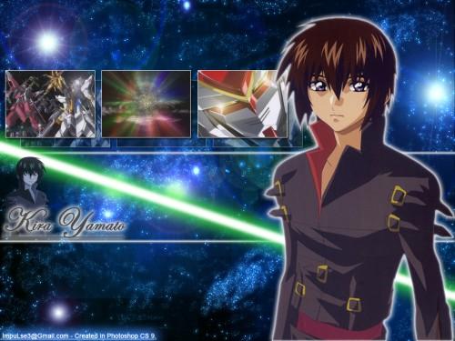 Sunrise (Studio), Mobile Suit Gundam SEED Destiny, Kira Yamato Wallpaper