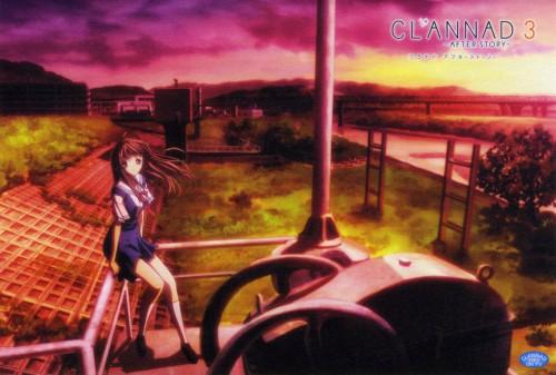 Clannad, Yukine Miyazawa, DVD Cover