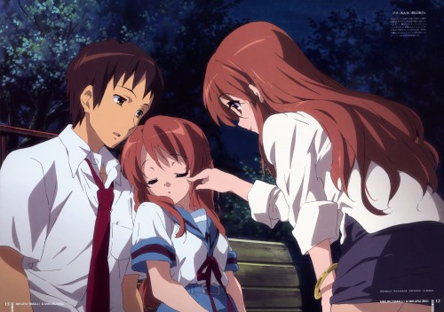 Futoshi Nishiya, Kyoto Animation, The Melancholy of Suzumiya Haruhi, Tribute to the SOS-Dan, Kyon
