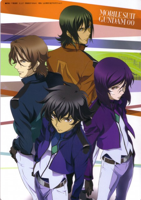 Sunrise (Studio), Mobile Suit Gundam 00, Tieria Erde, Setsuna F. Seiei, Lockon Stratos