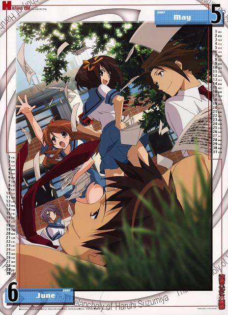 Tomoe Aratani, Kyoto Animation, The Melancholy of Suzumiya Haruhi, Suzumiya Haruhi No Yuutsuu 2007 Calendar, Haruhi Suzumiya