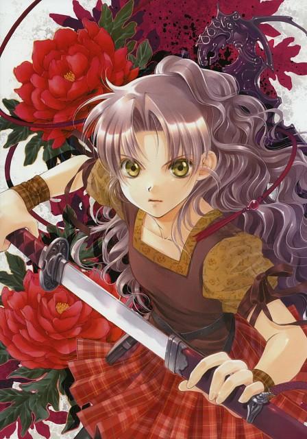 You Shiina, Tsuki to Anata ni Hanataba wo, Garnet - You Shiina's Illustrations