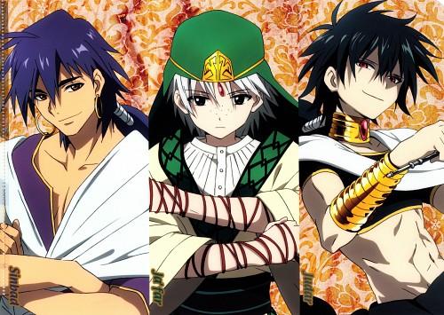 Shinobu Ohtaka, A-1 Pictures, MAGI: The Labyrinth of Magic, Jafar (MAGI), Judal (MAGI)