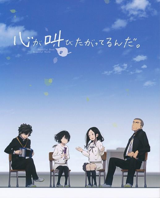 A-1 Pictures, Aniplex, Kokoro ga Sakebitagatterunda., Natsuki Nitou, Jun Naruse