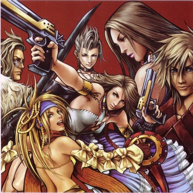 Square Enix, Final Fantasy X-2, Shuyin, Lenne, Paine