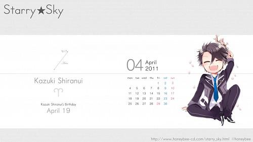 Kazuaki, Starry Sky, Kazuki Shiranui, Calendar