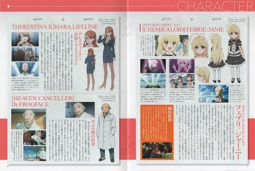 J.C. Staff, To Aru Kagaku no Railgun, Febri, Character Sheet