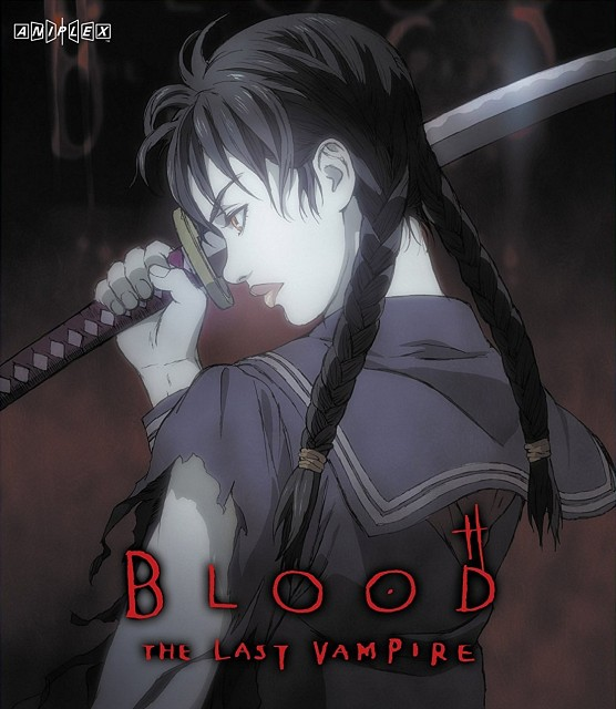 Kazuchika Kise, Production I.G, Blood: The Last Vampire, Saya, DVD Cover