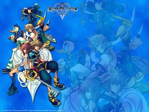 Square Enix, Kingdom Hearts, Donald Duck, Sora, Mickey Mouse Wallpaper
