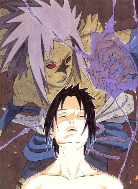 Masashi Kishimoto, Naruto, NARUTO Illustrations, Sasuke Cursed Seal, Sasuke Uchiha