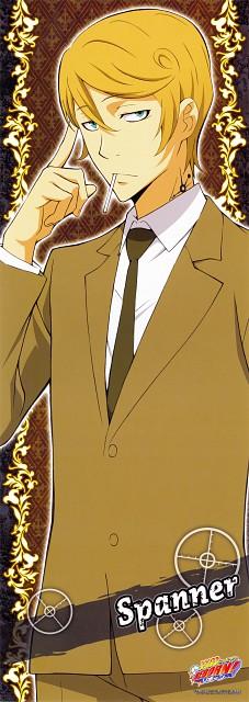 Akira Amano, Artland, Katekyo Hitman Reborn!, Spanner, Stick Poster