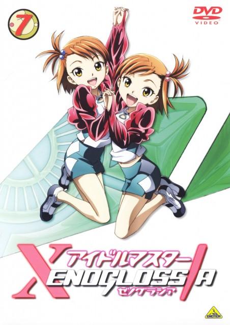 Idol Master, Ami Futami, Mami Futami, DVD Cover