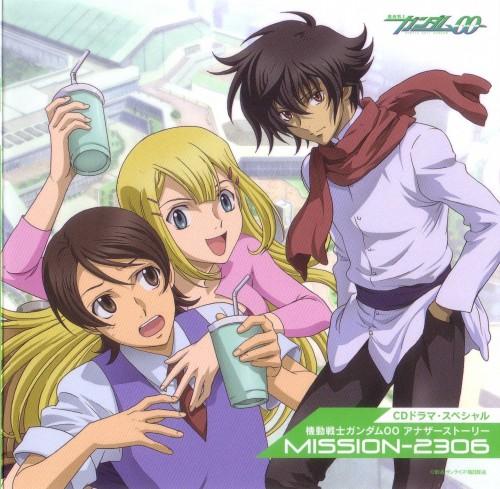 Mobile Suit Gundam 00, Saji Crossroad, Setsuna F. Seiei, Louise Halevy