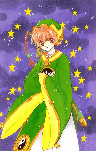 CLAMP, Cardcaptor Sakura, Cardcaptor Sakura Illustrations Collection 1, Syaoran Li