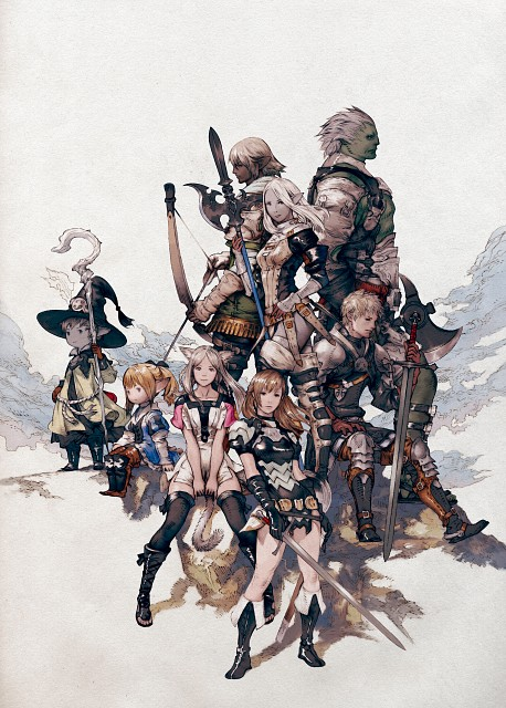 Square Enix, The Art of Eorzea, Final Fantasy XIV, Official Digital Art
