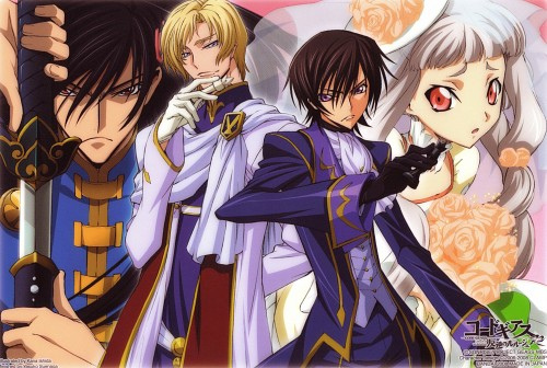 Takahiro Kimura, Sunrise (Studio), Lelouch of the Rebellion, Lelouch Lamperouge, Schneizel El Britannia